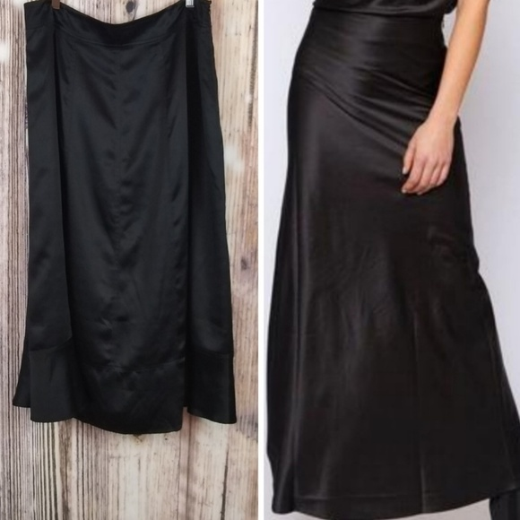Sundance Dresses & Skirts - Sundance Black Silk Maxi Skirt 14